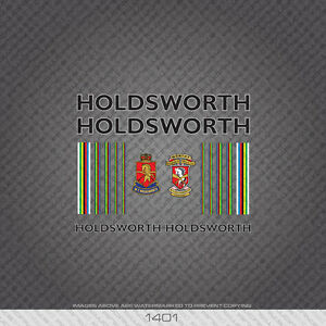 01183 Holdsworth Bicycle Stickers Transfers Decals