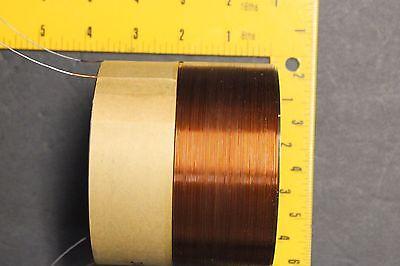 "76mm 3/"" QUAD1 ohm black alumin fomer COPPER WIRE SUBWOOFER speaker voice coil 3"