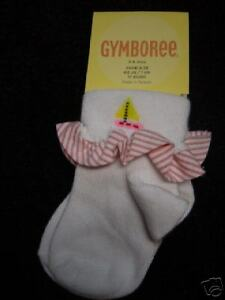 NWT GYMBOREE COTE D-AZURE SAILBOAT SOCKS SOX GIRL 3-6 M