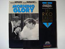 Morning Glory 1933 Laser Disc - NEW - Katharine Hepburn - Douglas Fairbanks, Jr.
