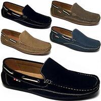 LUXUS Mokassins Herren Slipper Superoptik Bequeme Boots Schuhe 43 44 45 46 -M50