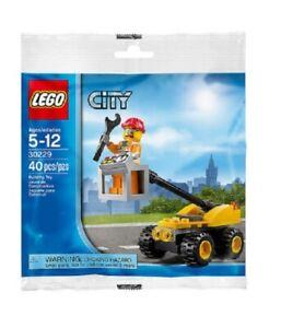 LEGO-CITY-30229-Repair-Lift-POLYBAG-NEU-OVP