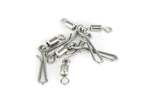 25 LINK-RIG GNEAT CLIPS complete with SWIVELS QUICK CHANGE CLIP