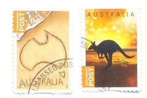 Australia-Concession-set-of-2-fine-used