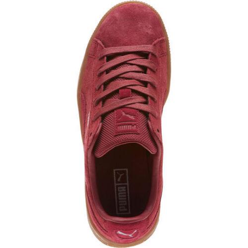 Puma Basket Classic Weatherproof JR 364923-01 Tibetan Red Sneakers Women Shoes