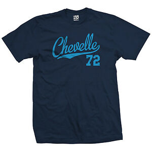 Chevelle-72-Script-Tail-Shirt-1972-Classic-Muscle-Race-Car-All-Size-amp-Colors