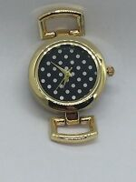 Gold Polka Dot Time Key Watch - - Fits Keep Collective