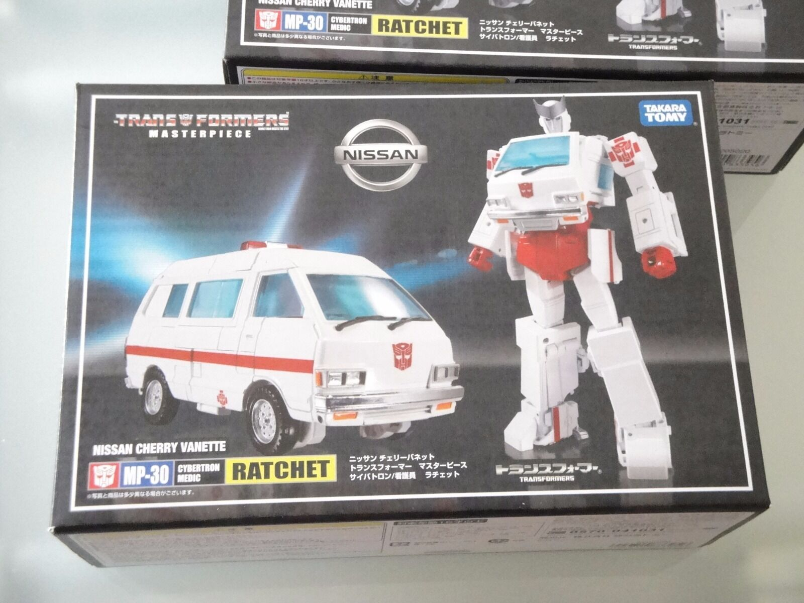 TRANSFORMERS TAKARA TOMY MASTERPIECE MP-30 RATCHET NEW, SEALED, MISB, SCONTATO