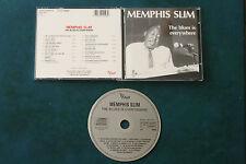 MEMPHIS SLIM   THE BLUES IS EVERYWHERE  (CD)