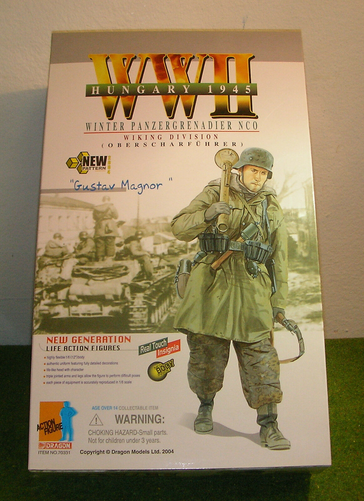 Dragon 1 6 scale ww ii allemand gustav Magnor-hiver infantry nco-wikin