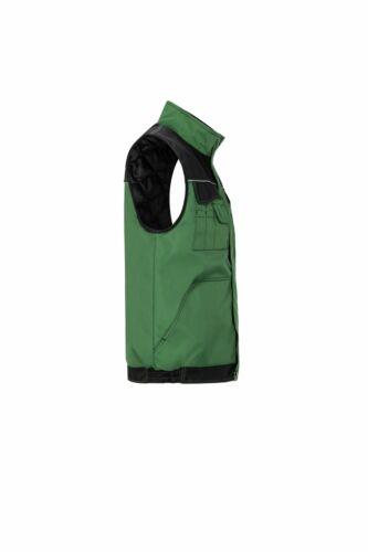 Planam Outdoor Winter Herren Dust Weste farngrün schwarz Modell 3316