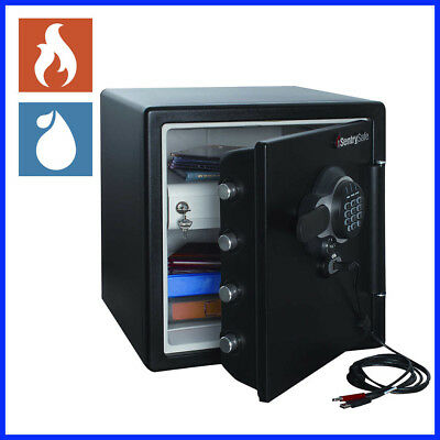 Helder [no Tax] Sentrysafe 1.23 Cubic Ft. Electronic Usb Connected Fire-safe