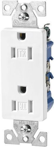 Cooper Wiring Devices 1107w White 15a Decorator Standard Grade