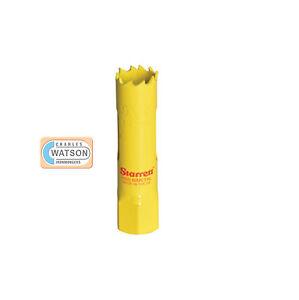 Starrett-19mm-Holesaw-High-Speed-Steel-Bi-Metal-Hole-Saw-HSS-Wood-Metal-Plastic