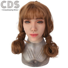 IMI Western female mature style mask Realistic silicone masks trick mask Cosplay