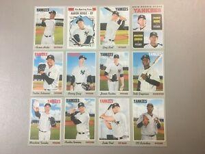 2019-Topps-Heritage-New-York-Yankees-Team-Base-set-12