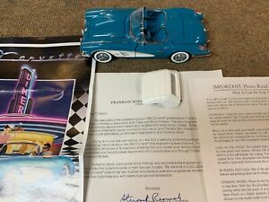 Franklin Mint Paperwork 1960 Chevy Corvette