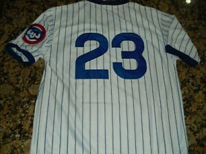 the best attitude 99336 752c5 Details about New!!! Ryne (Ryan) Sandberg #23 Chicago Cubs Vintage  Pull-over Baseball Jersey M
