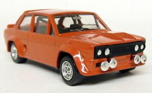 Luso-toys-1-43-Scale-M-17-Fiat-131-Abarth-Dark-Orange-diecast-model-car