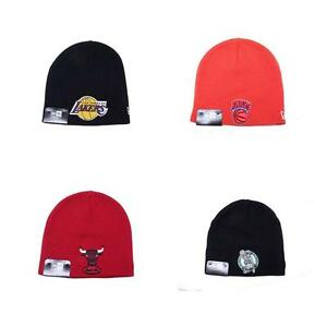 NBA Beanie Hat Uncuffed Stocking Cap Toboggan Winter Lakers Knicks ... 582a02c0dc7