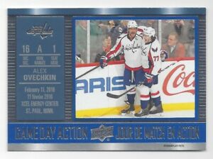 2016-17-Upper-Deck-Tim-Hortons-Game-Day-Action-Alex-Ovechkin-GDA14