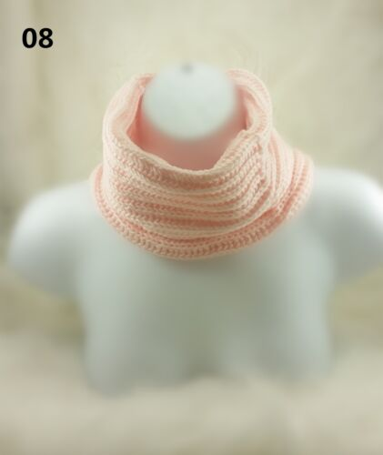 Winter Warm Infinity Eternity Loop Knit Cowl Circle Scarf Neckwarmer Shawl