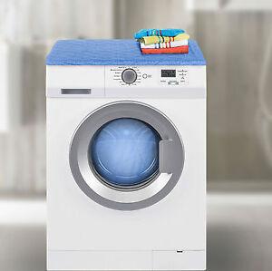 waschmaschinenbezug trockner schonbezug abdeckung bezug berzug blau ebay. Black Bedroom Furniture Sets. Home Design Ideas