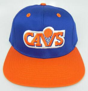 CLEVELAND-CAVALIERS-CAVS-NBA-VINTAGE-SNAPBACK-FLAT-BILL-RETRO-2-TONE-CAP-HAT-NEW