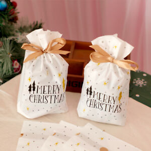 10pcs-Christmas-Drawstring-Candy-Cookies-Pouches-Resealable-New-Year-Gift-Bags
