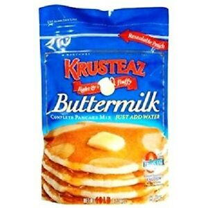 Image Is Loading Krusteaz Ermilk Complete Pancake Mix Just Add Water