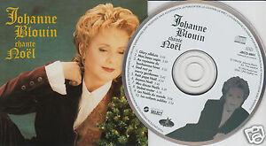 JOHANNE-BLOUIN-Chante-Noel-CD-1994-10-Songs-French-Christmas-Holiday-Album