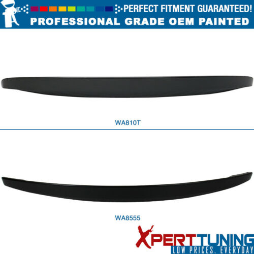 Fit 14 15 Chevy Camaro Z28 OE Style Rear Wing Trunk Spoiler-Painted OEM Color