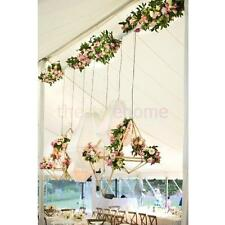 Wedding Garden Centrepiece DIY Flower Metals Frame Holder Decor 5x5x12.5cm