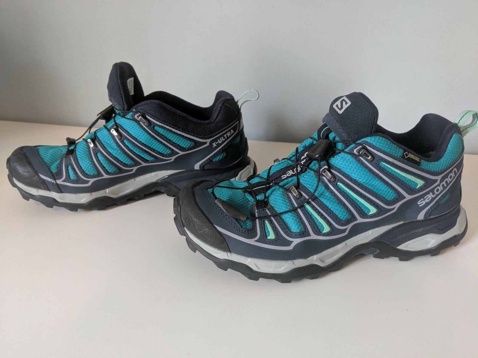 Salomon Women's X  Ultra Low GTX Gore-Tex Trail Running shoes - Euro 39.5   US 7.5  cheaper prices