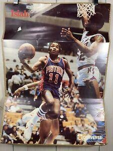Vintage Isiah Thomas Poster Zeke