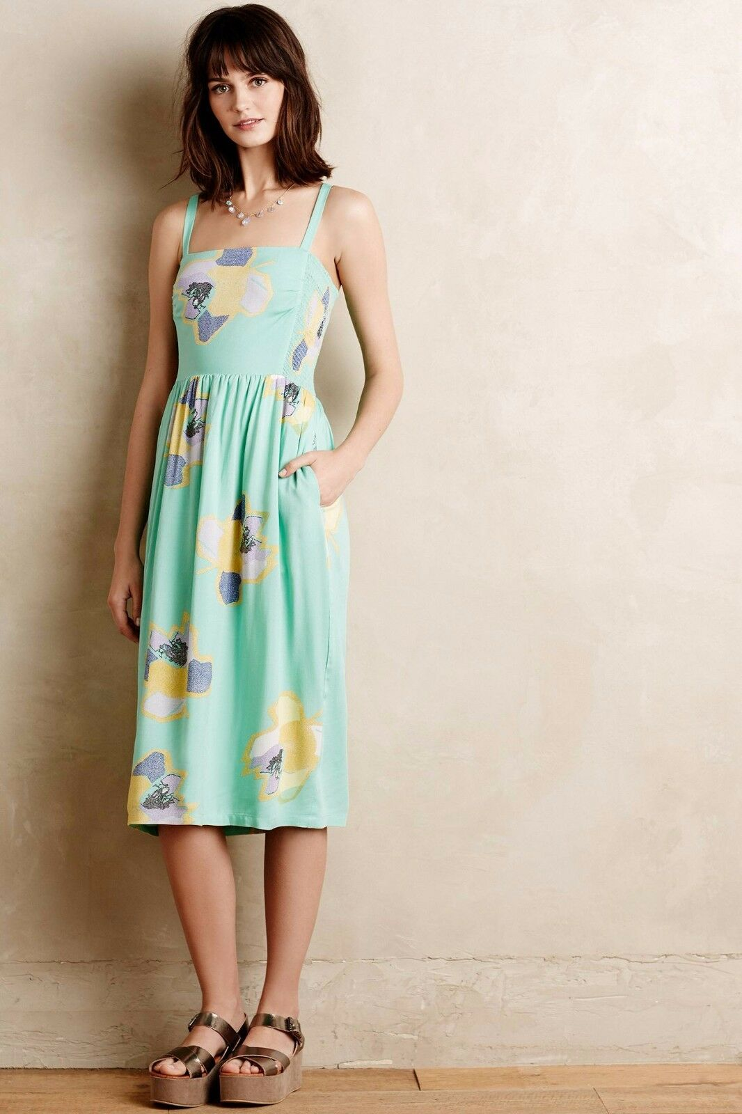 NWT Anthropologie Sketchbook Midi Dress by Corey Lynn Calter, Calter, Calter, colors, M, L 246f4f