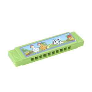 Kids-Cartoon-Plastic-Harmonica-Toy-Fun-Musical-Early-Educational-Gift-Toys