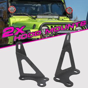[DIAGRAM_38EU]  For 1997-2006 Jeep Wrangler TJ Hood Mount Bracket Offroad For 22