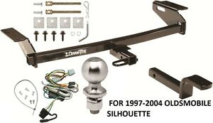 COMPLETE TRAILER HITCH PACKAGE W/ WIRING KIT FOR 1997-2004 ...