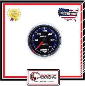 Image Is Loading Autometer 0 60 Psi Cobalt Boost Og Gauge