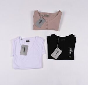 Lot De 3 X Gymshark Femme Gym Entraînement T-Shirt TAILLE S, Nouvelles