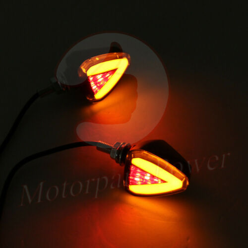 Motorcycle Turn Signals Front Light Indicator Run Brake Stop ...