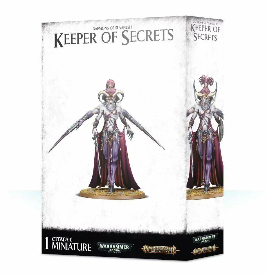 Warhammer Daemons of Slaanesh Keeper of Secrets