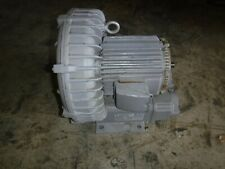 Fuji Ring Regenerative Blower Compressor Vfc600a 7w 3 Phase 200 230 460v 2 Pole