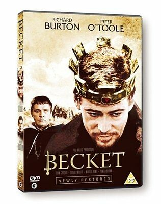 Becket - Proper UK DVD release - NEW & SEALED - Peter O'Toole, Richard Burton