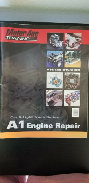 ase engine certification repair age motor training a1 guides study self