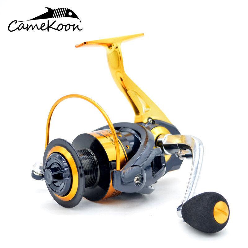 CAMEKOON Spinning Fishing Reels Light Weight Smoothest 13Bearings Saltwater Reel