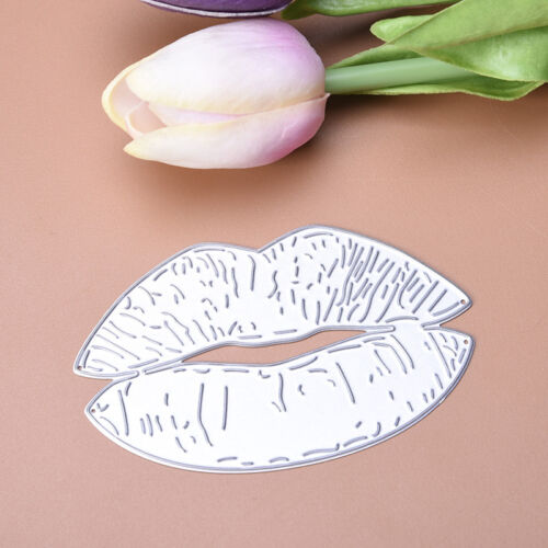 Lips Dies Metal Cutting Stencil For Scrapbooking Paper Cards Decors