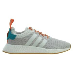separation shoes 39aa2 496d0 Details about Adidas NMD R2 Boost Summer Crystal White Grey Gum CQ3080 Mens  Size 8.5