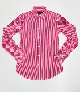 Ralph Lauren Pink Slim Fit Shirt SMALL *NEW WITH TAGS* RRP £95